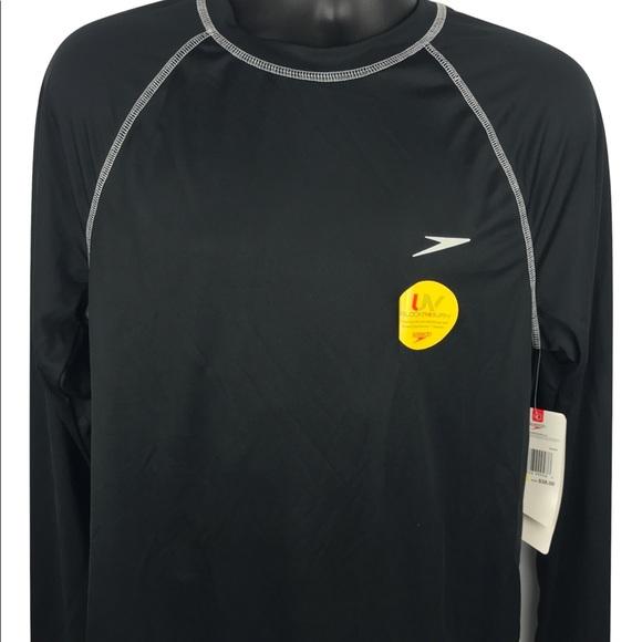 3f00fd8fadb37 Speedo Shirts | New Easy Long Sleeve Loose Fit Swim Tee | Poshmark